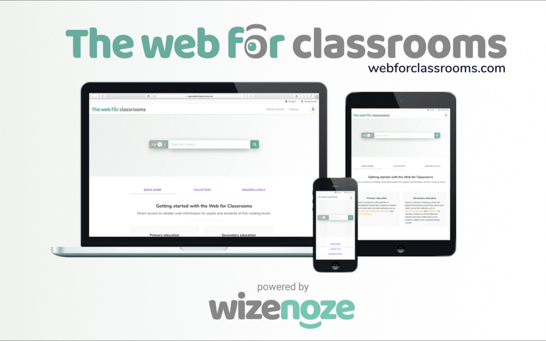Web for Classrooms has arrived