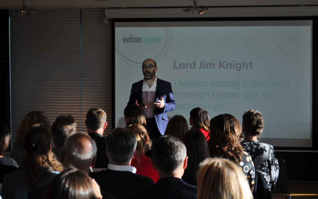 Lord Knight calls for more technological solutions, to help democratise education