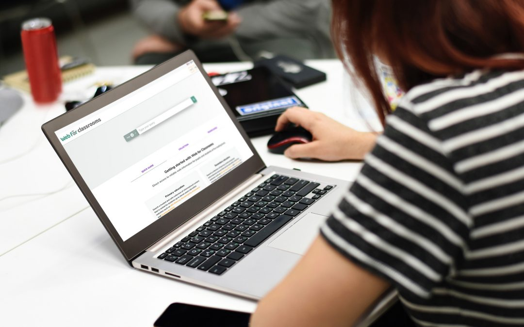 Blog by Ufi Charitable Trust about Web for Classrooms