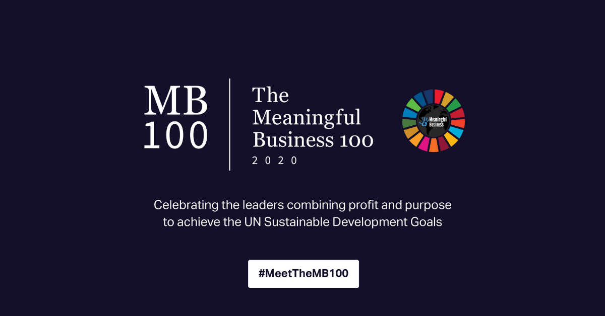 Wizenoze Founder, Diane Janknegt, recognised as a 2020 Meaningful Business 100 Leader